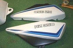 画像2: RZ350初期型(ロゴ、ラインペイント) 外装一式ペイント料金