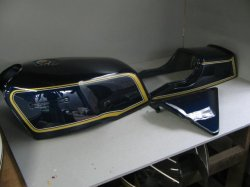 画像1: Z1000MKII 1型紺外装一式ペイント料金