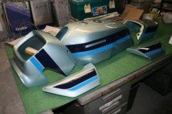 画像1: Z1100Rシルバー 図面つきウレタン塗料セット