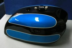 画像1: W1-SA 黒/青図面つきウレタン塗料セット