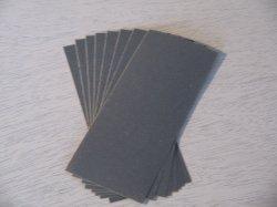 画像1: サンドペーパー(14cm×5.5cmカット5枚)