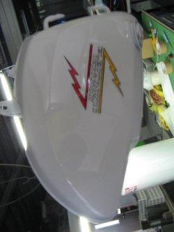 画像2: 500ssH1赤エグリ(オイルタンクマークペイント)外装一式ペイント料金
