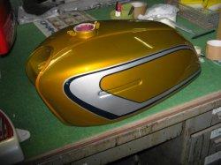画像1: GT380 B3 外装一式ペイント料金