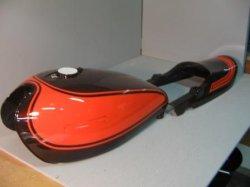 画像1: Z1,Z2火の玉 図面つき純正色ウレタン塗料セット